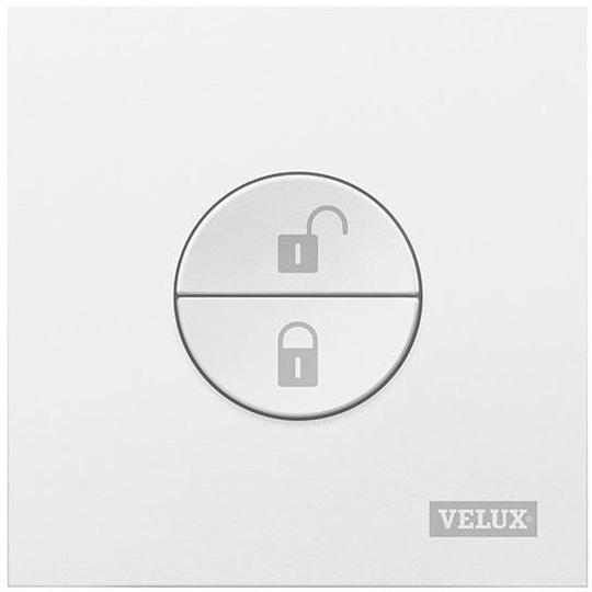 VELUX GGL CK06 206630 Triple Glazed White Painted INTEGRA® SOLAR Window (55 x 118 cm)