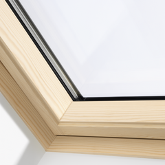 VELUX GGL FK06 306630 Triple Glazed Pine INTEGRA® SOLAR Window (66 x 118 cm)