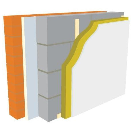 Warmline PIR Insulated Plasterboard - 52.5mm