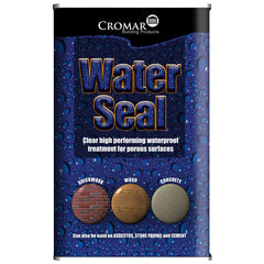 Cromar External Water Seal - Clear 5Ltr