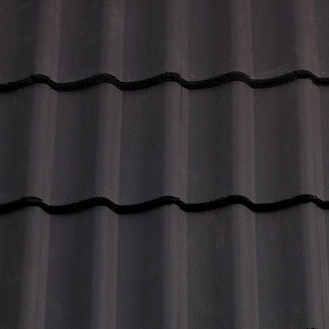 Sandtoft Concrete Double Pantile - Dark Grey (smoothfaced)