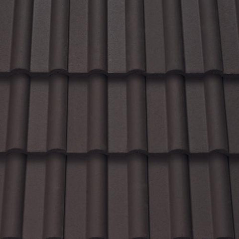 Sandtoft Concrete Double Roman Roof Tile Brown Roofing