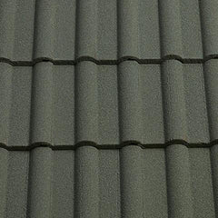 Sandtoft Concrete Double Roman Roof Tile - Cornish Grey (sandfaced)