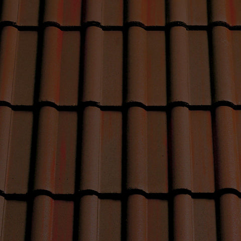 Sandtoft Concrete Double Roman Roof Tile - Dark Heather (smoothfaced)