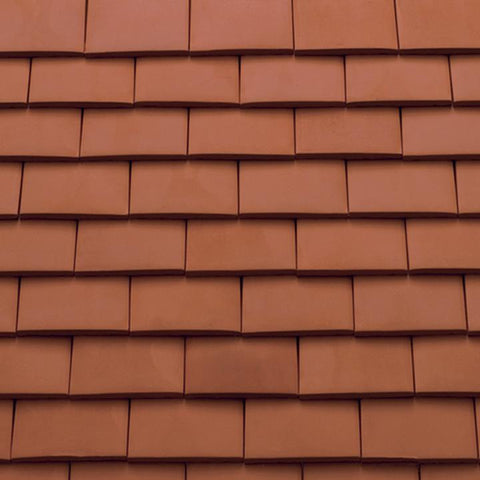 Sandtoft Humber Clay Plain Tile - Natural Red