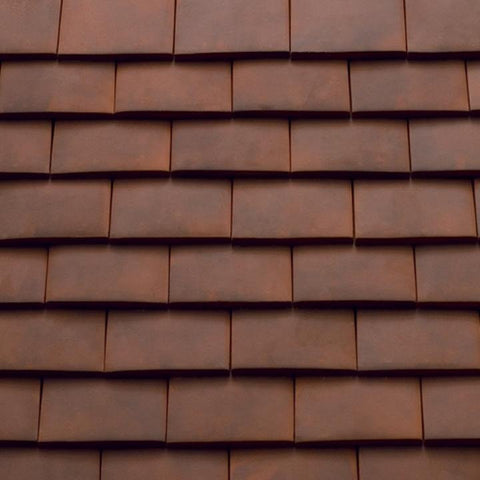 Sandtoft Humber Clay Plain Tile - Tuscan