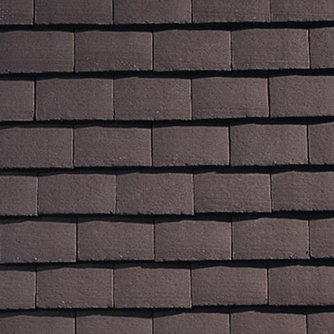 Sandtoft Concrete Plain Roof Tile - Brown (smoothfaced)