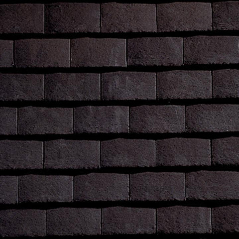 Sandtoft Concrete Plain Roof Tile - Dark Grey (smoothfaced)