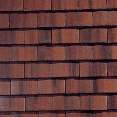 Sandtoft Concrete Plain Roof Tile - Rustic (smoothfaced)