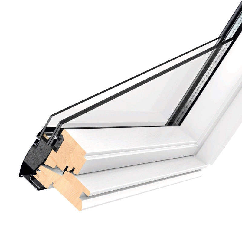 VELUX Centre-Pivot White Painted Conservation Roof Windows