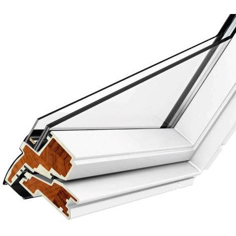 VELUX GGU CK06 006621U White INTEGRA® Electric Window (55 x 118 cm)