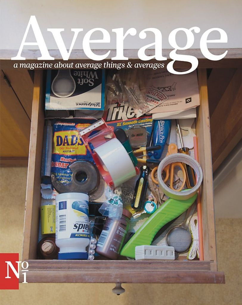 """Average"" Magazine by Kate Pocrass"