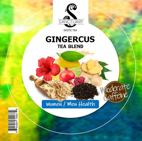 GINGERCUS HIBISCUS TEA