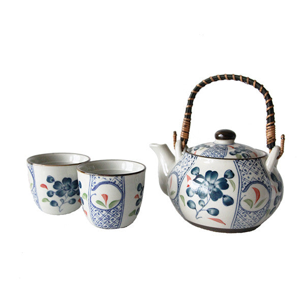 JAPANESE TEAPOT SET 2 CUPS + INFUSER