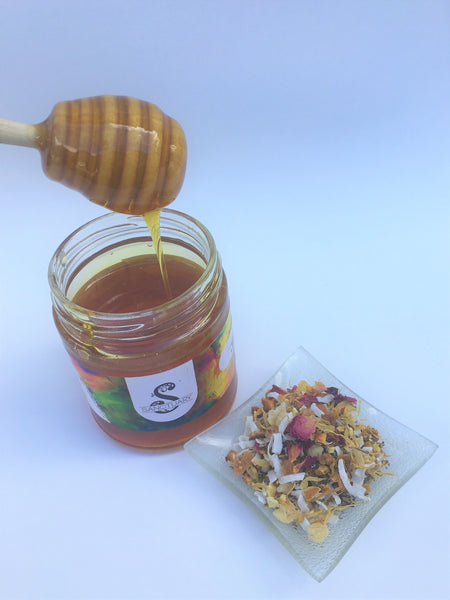 RAW HONEY TEA JAR