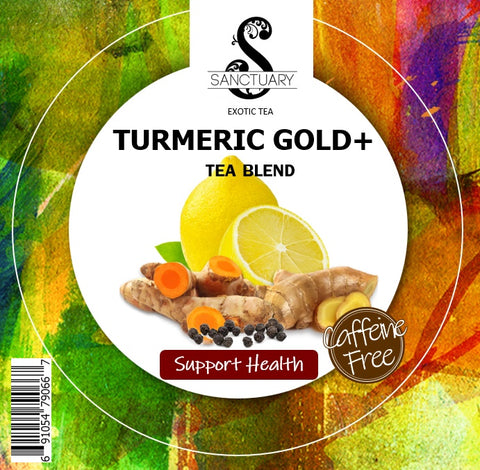 TURMERIC GOLD+ TEA BLEND (Healing /Support Overall Health)