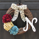 Patriotic Monogram Wreath