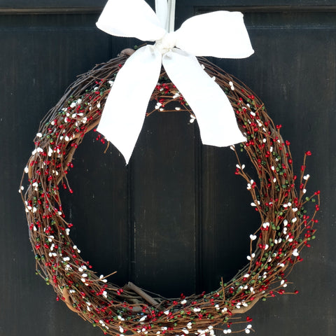 Christmas Pip Berry Wreath