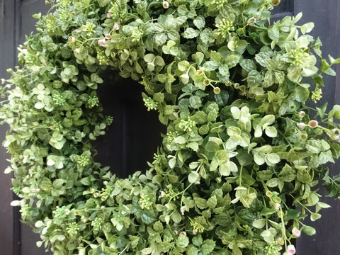Boxwood & Eucalyptus Wreath