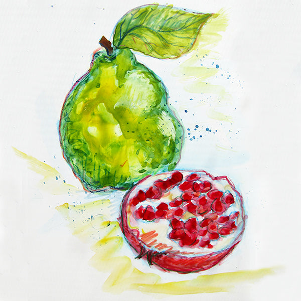 Pomegranate-Quince