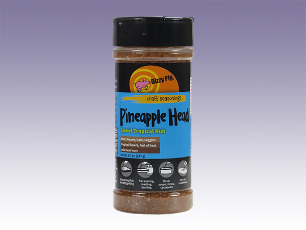 Pineapple Head Sweet Tropical Rub