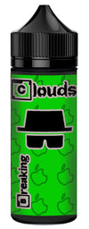 Breaking Clouds Apple Short Fill E-Liquid (100ml)120ml Breaking Clouds e-Juice hodges-home-brew