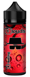 Breaking Clouds Fizzy Strawberry Short Fill E-Liquid (100ml)120ml Breaking Clouds e-Juice hodges-home-brew