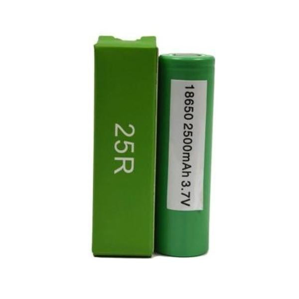 Samsung 25R 18650 2500mAh Battery Hodges E-Liquid