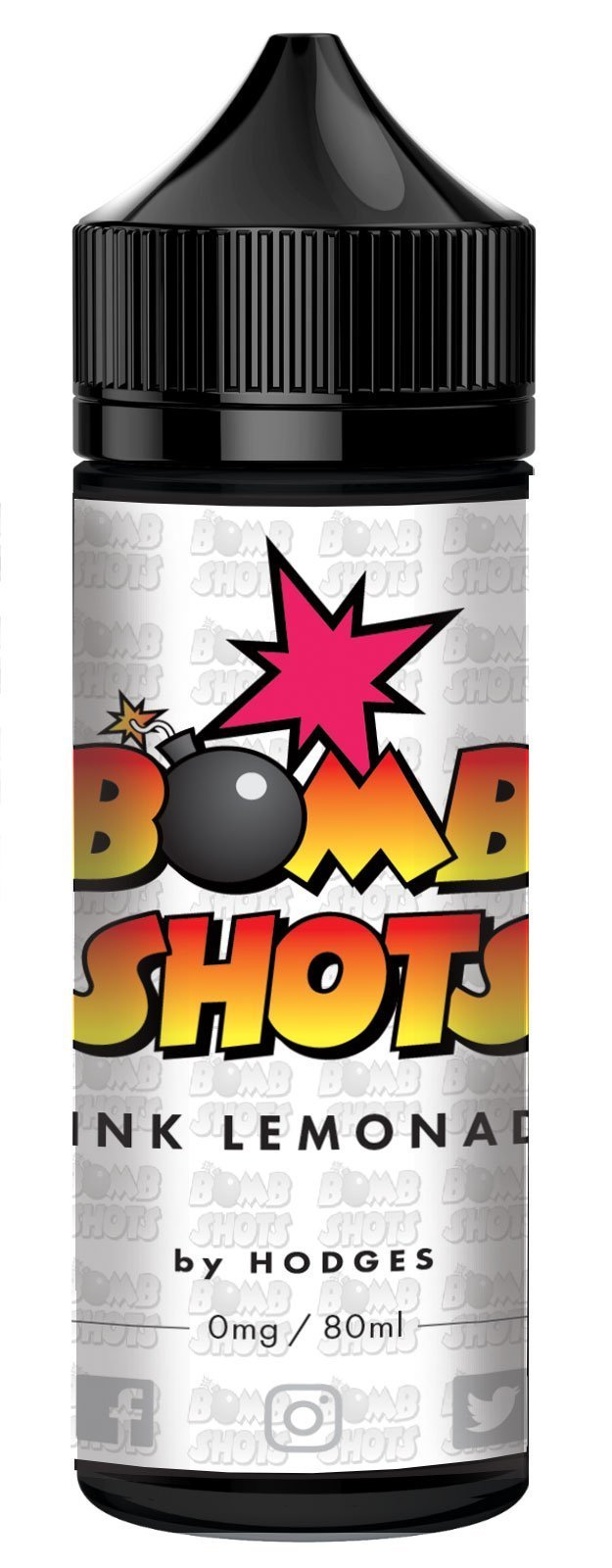Pink Lemonade Bomb Shots By Hodges Short Fill E-Liquid (80ml)120ml Hodges e-Juice hodges-home-brew