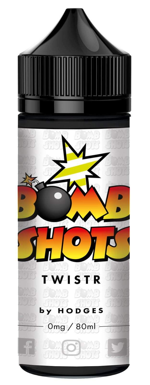 TWISTR Bomb Shots By Hodges Short Fill E-Liquid (80ml)120ml Hodges e-Juice hodges-home-brew