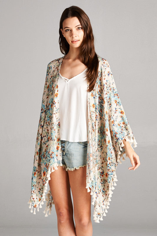 Scottsdale Tasseled Cardigan