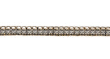 Adorn - Vintage 9K Yellow & White Gold Diamond Tennis Bracelet (VB035)