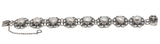 Victorian Arts & Crafts Sterling Silver Pearl Bracelet (VICB013)