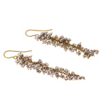 Estate Rachel Rose 14K Genuine Pearl Earrings