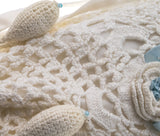 Vintage Irish Crochet Bridal Bag