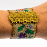 Charming Georgian Beaded Pinchbeck Bracelet (GB001)