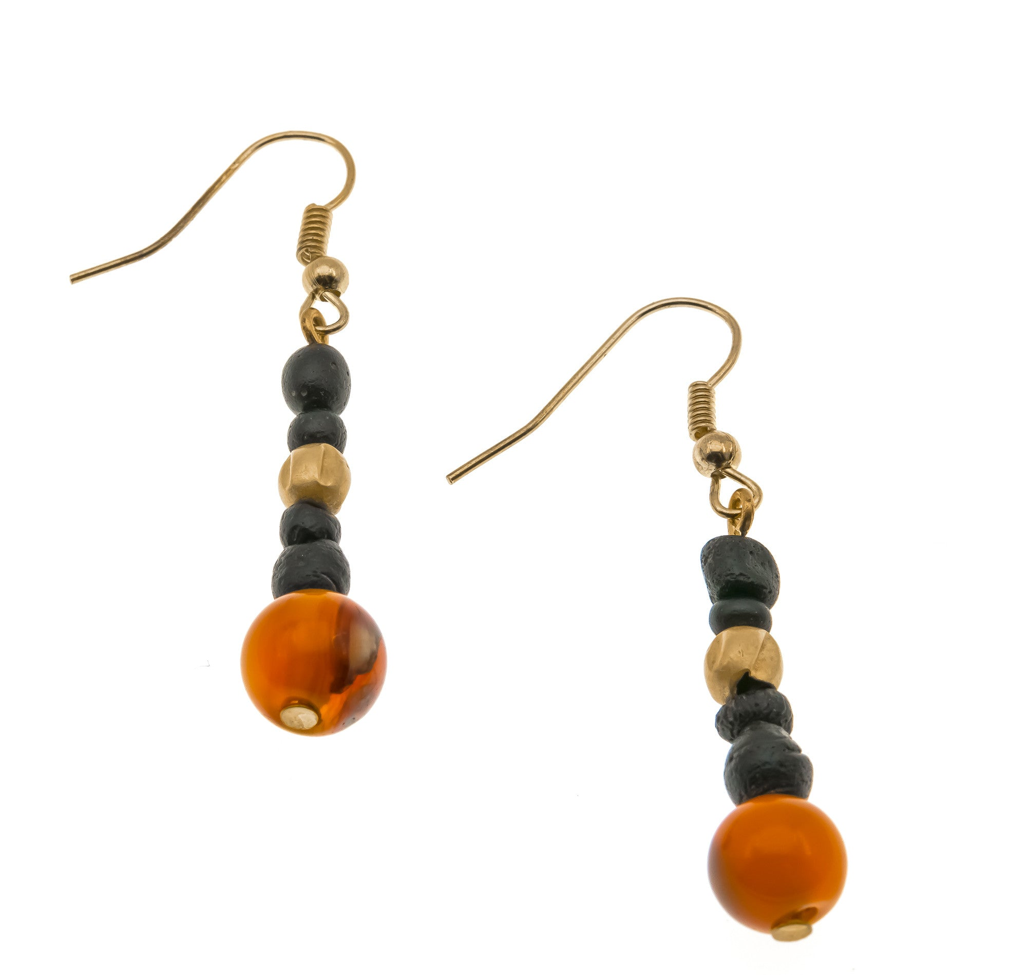 ancient d earrings roman gold carnelian glass products a shot