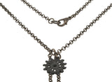 Medieval 13th-16th Century Bronze Medallion Necklace