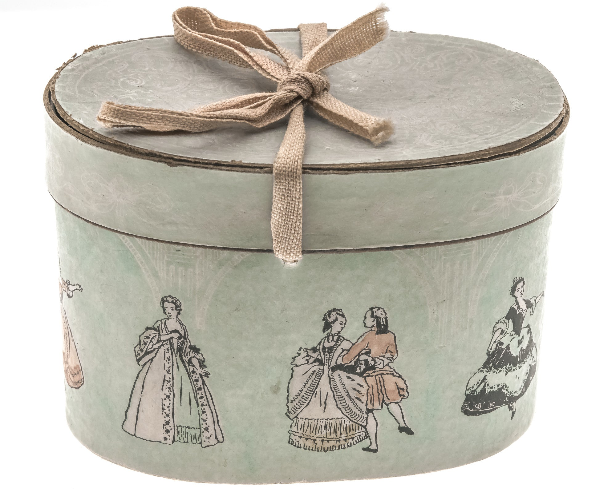 Victorian Miniature Hat Box (VICA002)