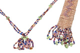 Magnificent French Art Deco Beaded Flapper Necklace
