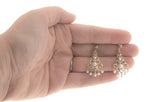 Le Renaissance - Vintage 10K Pearl & Diamond Earrings (VE052)