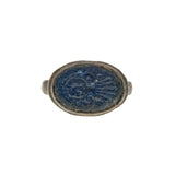 The Blue Seal - Medieval (Post)l 16th-17th Century Bronze Ring