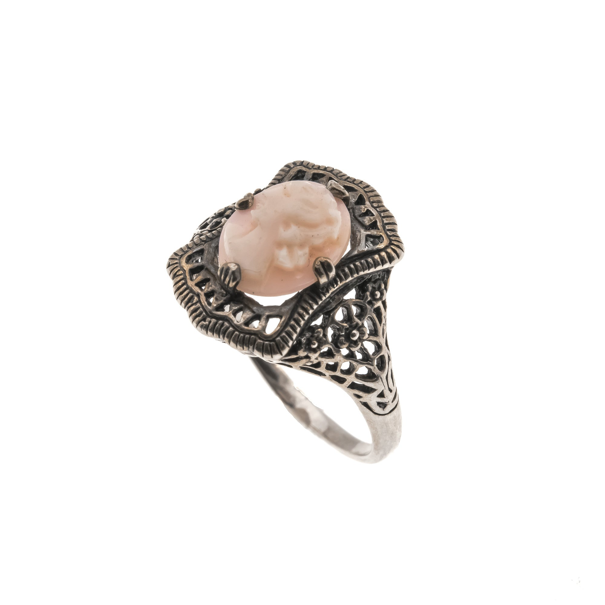 diamond product engagement ring peach home bands oval morganite and with rings filigree carat pink single big halo