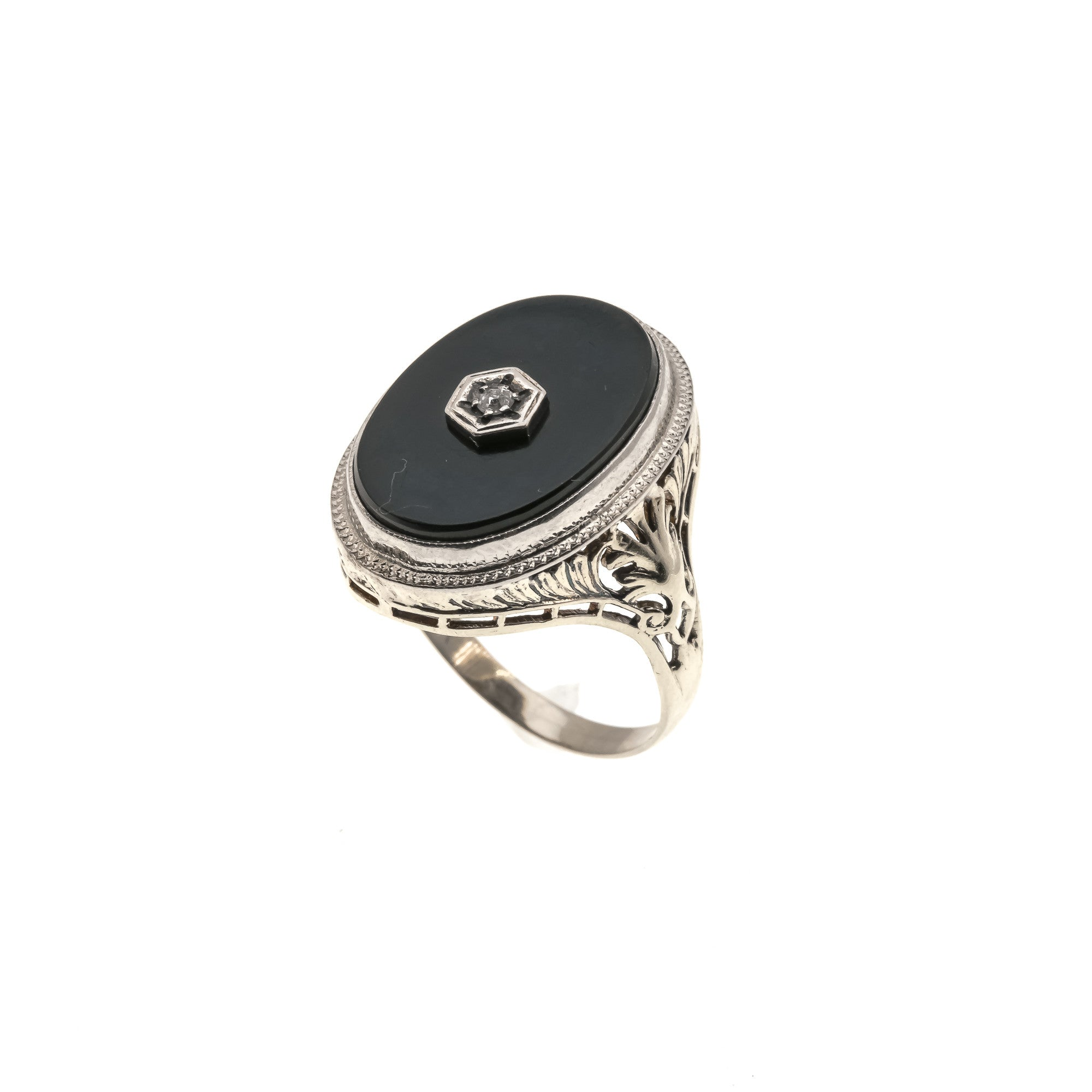 onyx diamonds inlay kt wedding jewelry archives category with product rings gold kabana ring yellow and