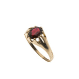 Warm Days - Vintage 9K Garnet Ring