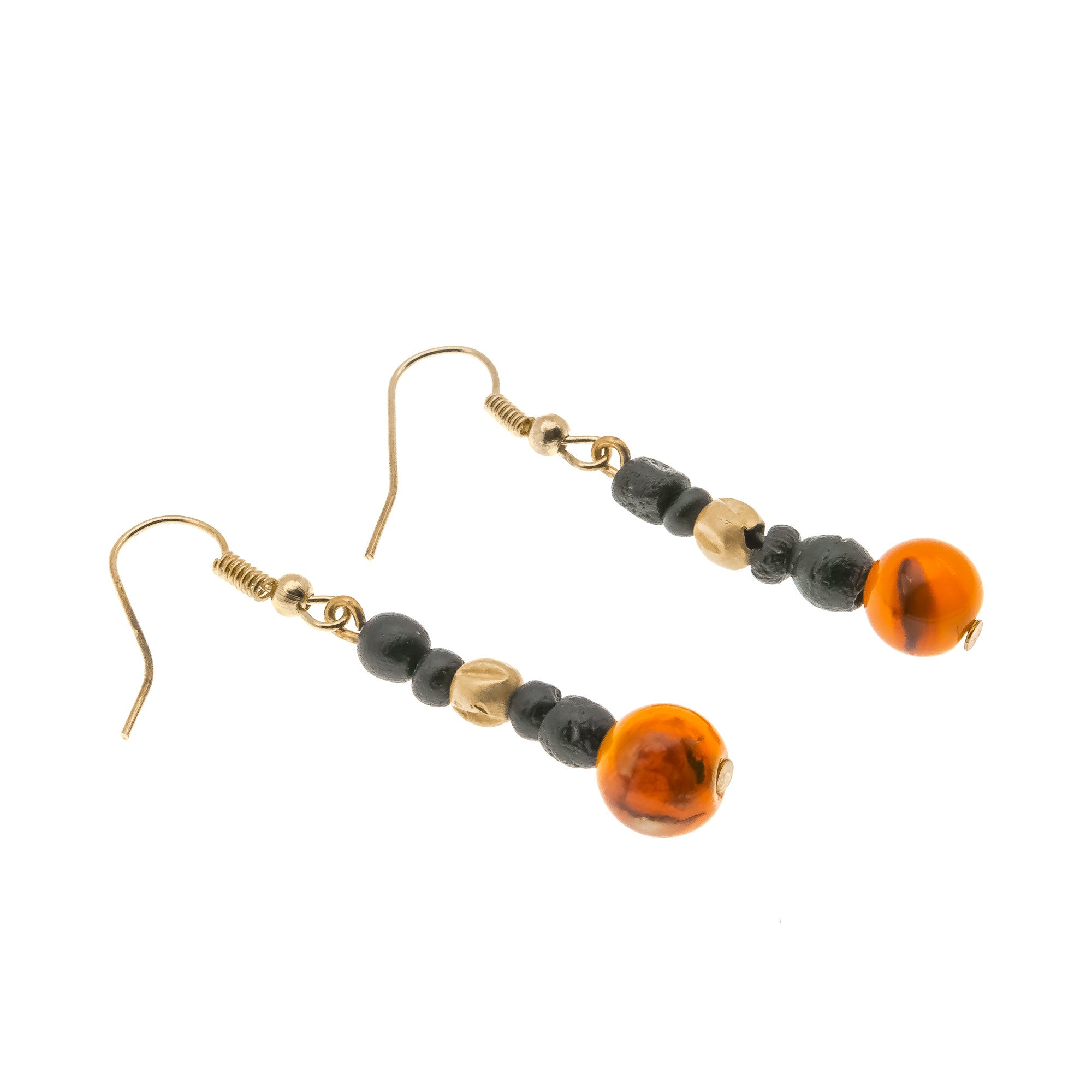 handmade riverpebble alyssa amber aquamarine with stonewear earrings and product jewelry carnelian