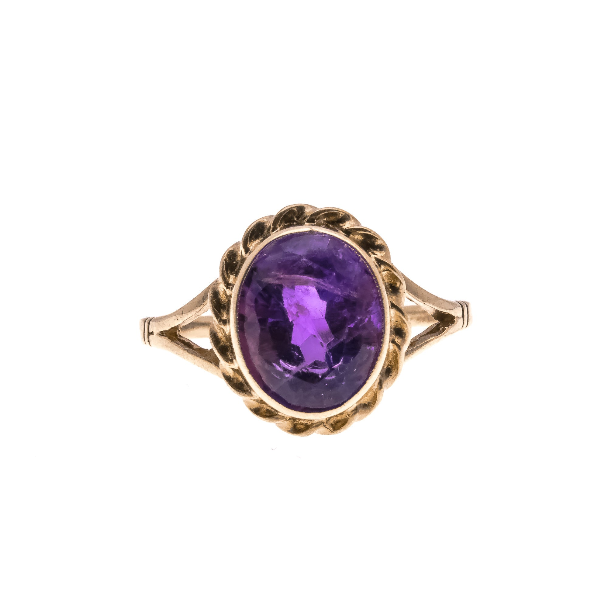 Intoxicating- Vintage 9K Amethyst Ring (VR204)