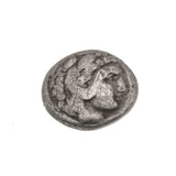 Ancient Greek 336 -323 BC Alexander III The Great - King Of Macedonia Silver Drachum Coin                     PGA021