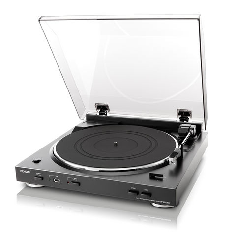 DENON DP-200USB FULLY AUTOMATIC TURNTABLE WITH USB MP3 ENCODER #1