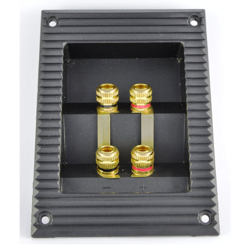 High Quality Gold Plated Speaker Bi-wire / Bi-amp Binding Post Panels - Do Good Audio